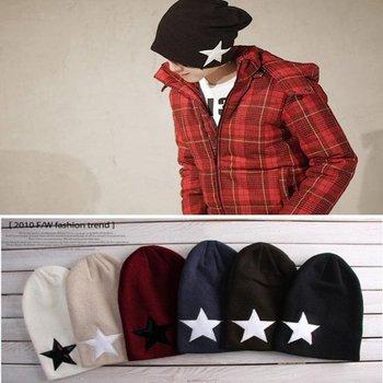 Fashion Unisex Men's Women's Winter Warm Hat Crochet Knit Beanie Ski Cap One Size New Free Shipping
