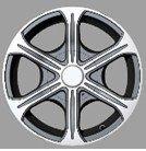 Silver Trailer wheel rims 14X6 inches