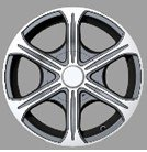 Silver Ranger boat Trailer wheel rims 15X7 inches ET0 CB 108	PCD139.7	with 6 HOLES trailer wheels for ranger boat