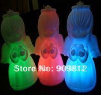 Free Shipping  Hot Selling LED Colorful Night Light,Colorful Villain Lights, Strange new Lamp 10pcs/lot
