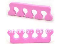 Toe Separator FreeShipping Manicure & Pedicure Tool 50pcs/lot Big Size Sponge Nail Art Soft Finger Toe Separator For Nail Care