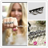Кольцо Fashion Jewelry 2012 Punk Horrible Acryle Skulll Rings for Woman 4 Colors, OY072519