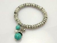 fashion jewelry,925 sterling silver Bracelets&bracelet, 925 Miao Silver, Brand New D50