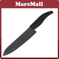 "NEW 5"" RIMON Ceramic Black Fruit Knife with ABS Black Handle CMT-BAK005 #HN212"