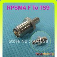 New SMA-TS9 adapter RP SMA Jack to TS9 Plug Straight
