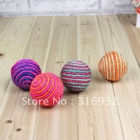 X5 Pet toy Rainbow Balls cat toy , training ball