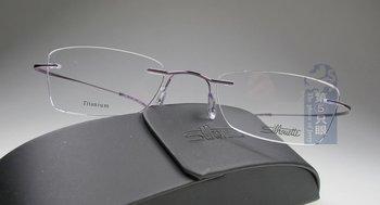 rimless eyeglass Silhouette Rimless Titanium7698 Eyewear+Free Shipping