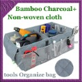 Car Boot Tidy Tools Organize Bag Auto Storage Box Organiser Organizer made of Bamboo Charcoal Fabric(China (Mainland))