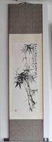 Free Shipping Hot sale 100% China Handicrafts,Chinese Silk Bamboo Painting FN-H7 for Home Decoration,100*30,New Arrivals