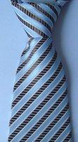 Free shipping 100% silk men's neck ties /striped ties #08