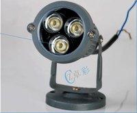 3W LED Landscape lamp 3W LED  12V for water light 85~240V for floodlight free shipping 3W project light tree light