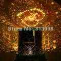 Free shipping Amazing Flashing Colorful LED star lover Master Sky Night light Projector Lamp gift 1346PJ