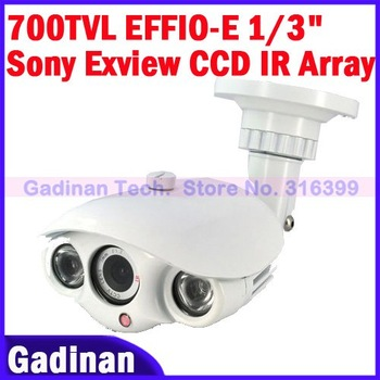 "!Free shipping !Wholesale,CCTV 700TVL EFFIO-E 1/3"" SONY Exview CCD Security Array Camera"