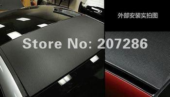 Free Shipping Wholesale 1m X 127cm 3D Carbon Fiber / 3D Twill Weave Carbon / Car Wrap Best Price