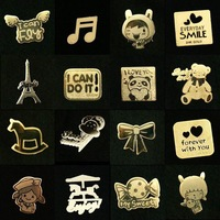 50 pcs / lot cell phone sticker mobile phone patch cellphone stickers free shipping