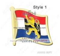 Free Shipping Newest Hot Selling Best Selling High Quality Benelux Flag Lapel Pins