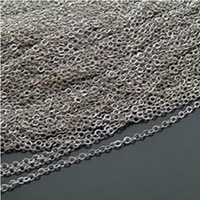 2MM necklace chain high quality jewelry chain 5 meters / lot jewelry findings free shipping