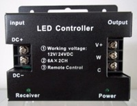 LED controller for adjusting the color temperature of led strip,DC12-24V input