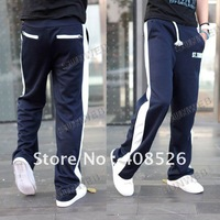 Мужские штаны 2012 Special Pocket Design Men's Pants Little Feet Slim Casual Sport Long Pant trousers 3 Colors 3746