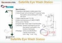 Instrial Eye wash station,emergency shower eye safety washer