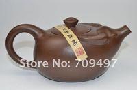 Genuine / Yixing teapot / cup purple cover / tea pet / special / manual / bull