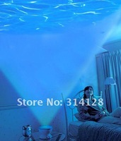 Novelty Roman LED Ocean Wave Projector projection Pot Lamp Light with Speaker