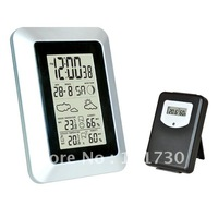 wireless weather station, outdoor temperature, cheap freight, hot item, retail