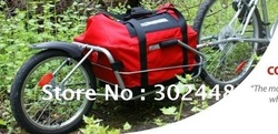 Wholesale 2012 newest style Cheap Bicycle Ebike Trailer, Cargo Carrier,cool design!(China (Mainland))