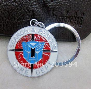s1038 Hot Sale 10pcs Key Ring Cute Alloy Enamel key chain