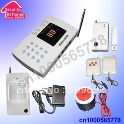 wireless alarm system for home security and protection 99 zone 6 auto dial alarm phone number free shipping(China (Mainland))