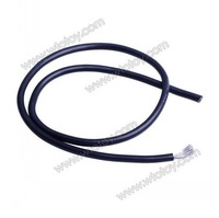 1M # 10AWG Soft Silicon Wire Black 50cm + Red 50cm 10#