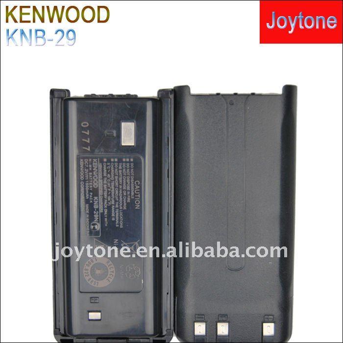TK-2207/3207 NI-MH two way radio cell KNB-29N(China (Mainland))