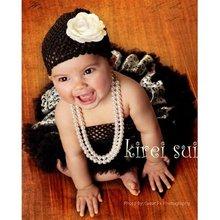 Lot 10 Pcs Newborn Baby BLACK LEOPARD PRINT Ruffles Pettiskirt Party Skirt Tutu(Hong Kong)