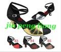 Wholesale 20pcs Women's Dance Shoes lady's Latin dance Shoes Ballroom shoes 6cm High Heels 10 Style Size 34-40 Free Shipping
