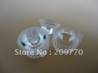 Wholesale- LED lens 20MM 25degrees optical lens Contain bracket 1W 3W Reflector Collimator