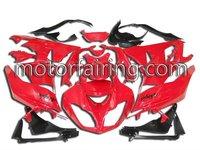 2011 Hot sale motorcycle fairing /bodykits for kawasak ZX-6R 09-10 Red/Black