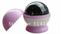 Rotating night light dill Magic Star/Star light projector lamp romantic holiday gift 12PCS  EMS free shipping