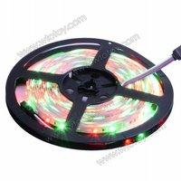 Free Shipping 5m 500CM 3528 SMD 60 LEDs/M RGB Flexible LED Strip not waterproof