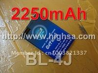2250mAh BL-4J / BL 4J High Capacity Battery Use for Nokia c6 etc Mobile Phones