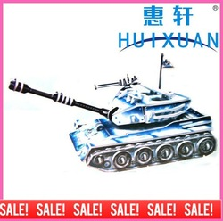 3 D puzzles model-battle tank(China (Mainland))