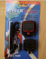 CYCLE COMPUTER bicycle computer bike speed counter odometer with thermometer 15 function 50G