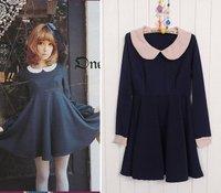 Hot selling 2011 Japanese sweet autumn   fashion dress  #0221 wholesale