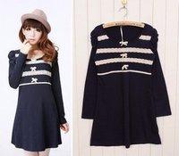 Hot selling 2011 women's winter lace fashion dress  #0228 wholesale