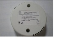 LED dimmable driver 5-6*1W E27 GU10 led constant driver;size:72*22mm