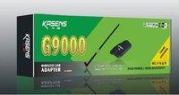 Free shipping!!50Pcs 2012 New Kasens KS-G9000 8187L chipst 18db 6000mW high power wireless usb adapter wifi adapter