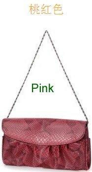 Wholesale / retail handbags fashion pu leather handbags evening bag purse serpentine ladies' bags,handbags, wallet,free shipping