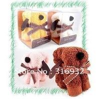 N5 christmas gift dog towel ,portable cake towel , free shipping