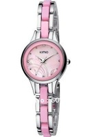 Наручные часы 2012 hot sale Fashion WOMAN watch Big face girl women 2504 quartz-analog watches retail and