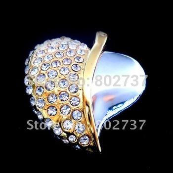 BW-8078 USB Flash Drive Thumb Drive Fashion Jewelry Drive heart Pendant Full Memory