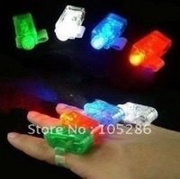12pcs/lot Party LED Finger light Light up Finger light Finger light toy Free shipping